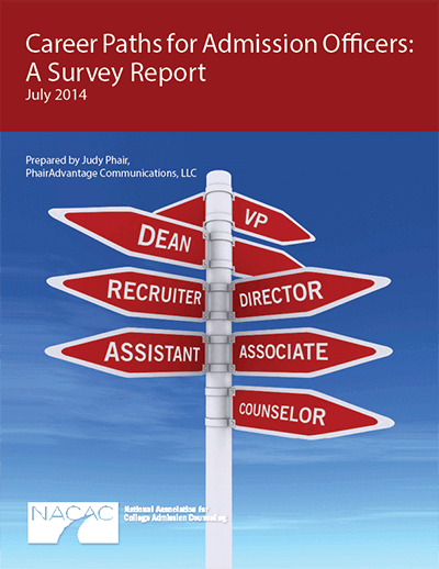 Career Paths for Admission Officers: A Survey Report